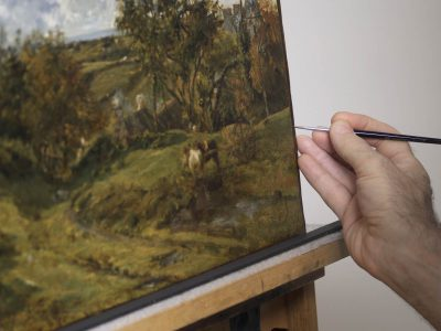 Mystery Around Painting Attributed to John Constable Solved With Conservation and Research at Milwaukee Art Museum