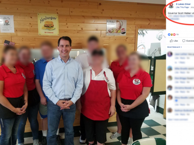 Scott Walker Charged Taxpayers $2,017 for Using State Plane to Fly to Film Campaign Commercial