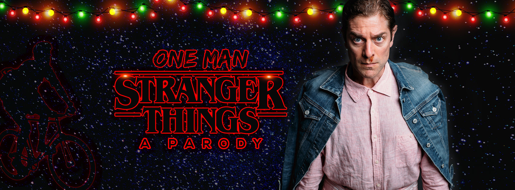 <em>One-Man Stranger Things: A Parody</em> is Coming to Marcus Center's Wilson Theater at Vogel Hall on November 2
