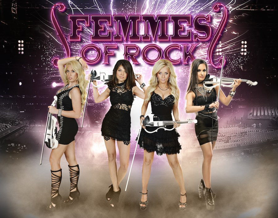 South Milwaukee Performing Arts Center Presents <em>FEMMES OF ROCK</em>