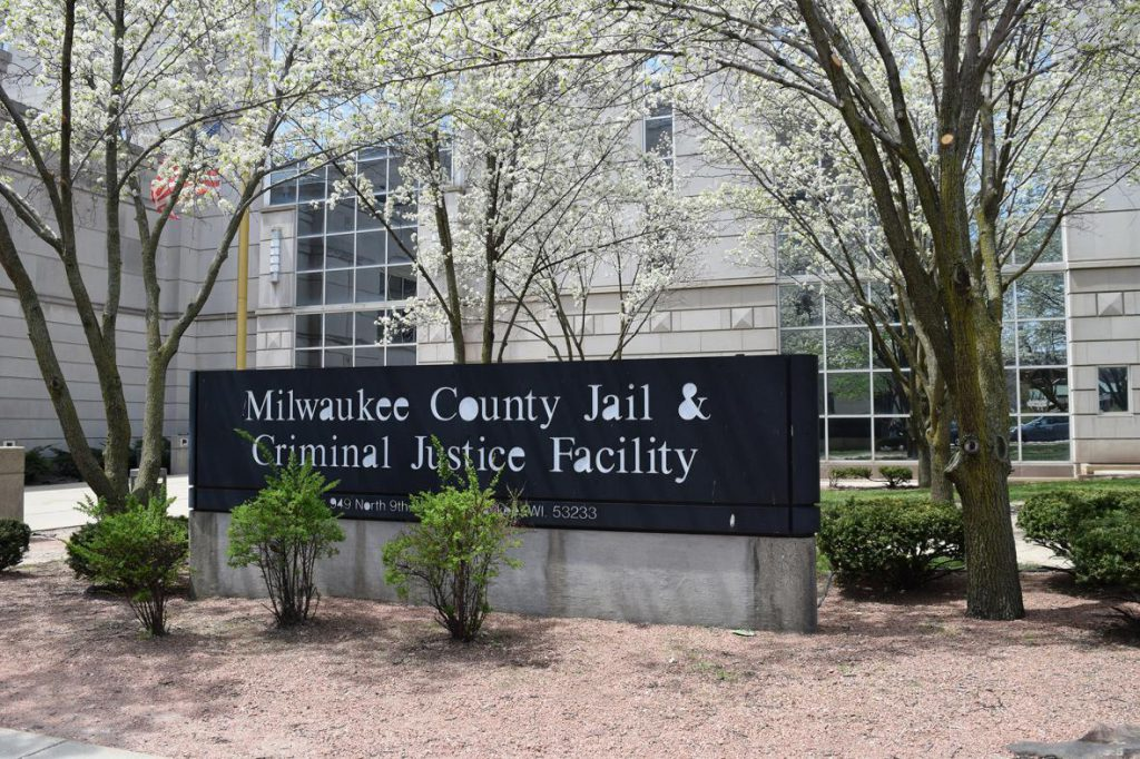 Milwaukee County Jail & Criminal Justice Facility. Photo by Gretchen Brown/WPR.