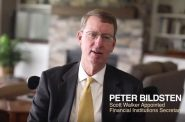 Peter Bildsten, former Financial Institutions Secretary for Gov. Scott Walker, appears in a digital campaign ad for Democratic gubernatorial nominee Tony Evers. Screenshot of Tony Evers campaign video.