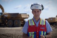 Still image from Walker's campaign ad