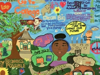 New Mural Has Positive Choices For Teens