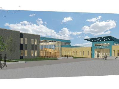 Cristo Rey Jesuit High School Releases Rendering of New School