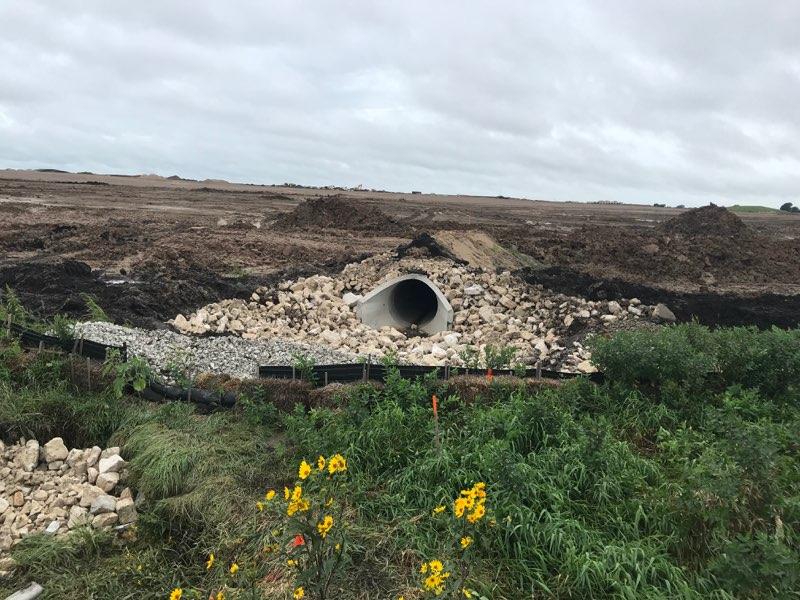 Photo of Foxconn site Wednesday. Photo courtesy of Village of Mount Pleasant.