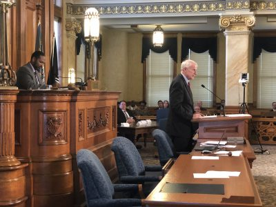 City Hall: Barrett Issues 5 Budget Vetoes