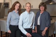 Sara Baumgartner, Jay Baumgartner & Julie Baumgartner. Photo courtesy of Keller Williams Realty, Inc.