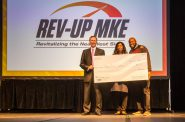 Rev-Up MKE 1st Place Winner Susie Roberts. Photo courtesy of Near West Side Partners.