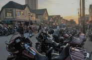 Harley-Davidson, Inc.'s 115th anniversary celebration on Brady Street. Photo by Mariiana Tzotcheva.