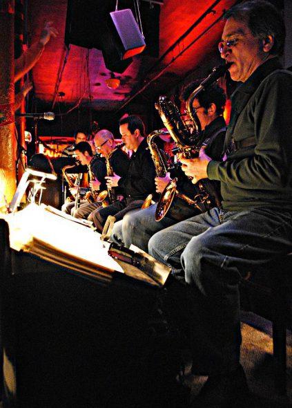 Chicago Jazz Orchestra. Photo courtesy of WMSE.