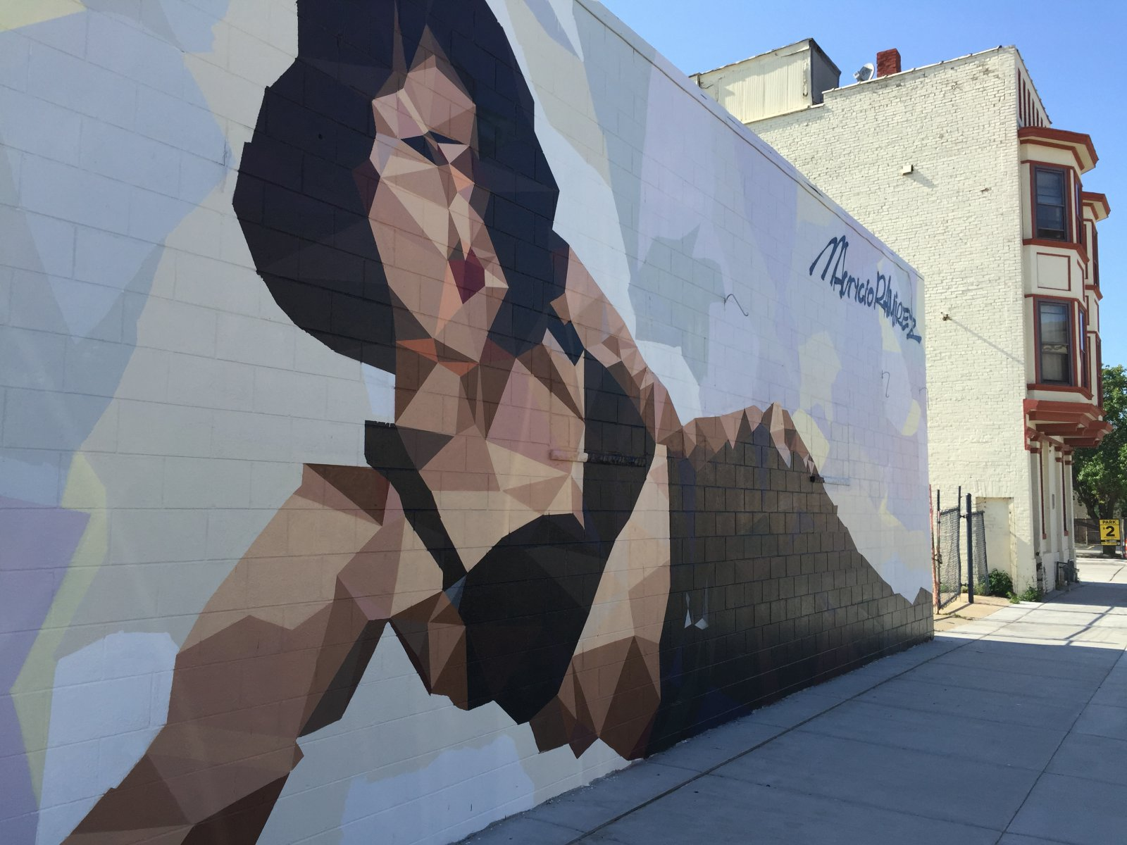 Mural of Selena Quintanilla-Pérez by Mauricio Ramirez in Walker's Point. Photo by Dave Reid.