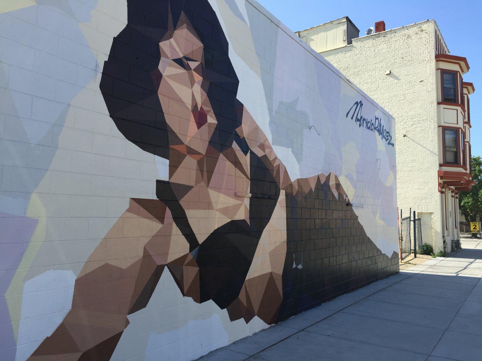 Mural of Selena Quintanilla-Pérez by Mauricio Ramirez in Walker's Point. Photo by Dave Reid.