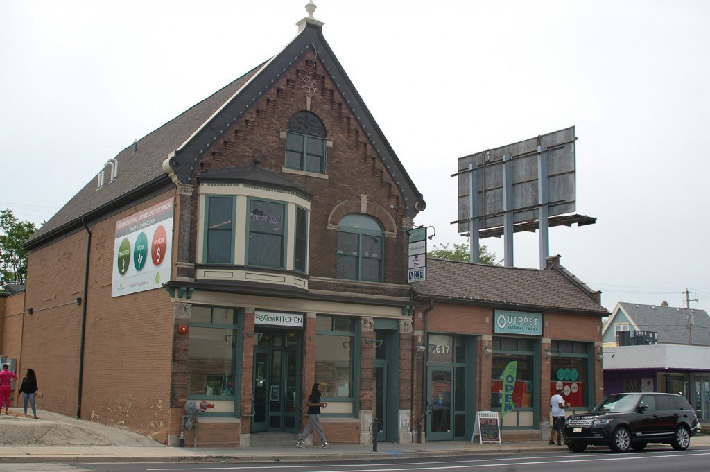 Walnut Way Conservation Corp. redeveloped an historic building to create the Innovations and Wellness Commons, 1615 W. North Ave., St. Photo by Andrea Waxman/NNS.