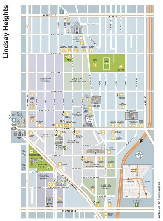 Lindsay Heights catalytic projects. Click to download a large PDF of the map.