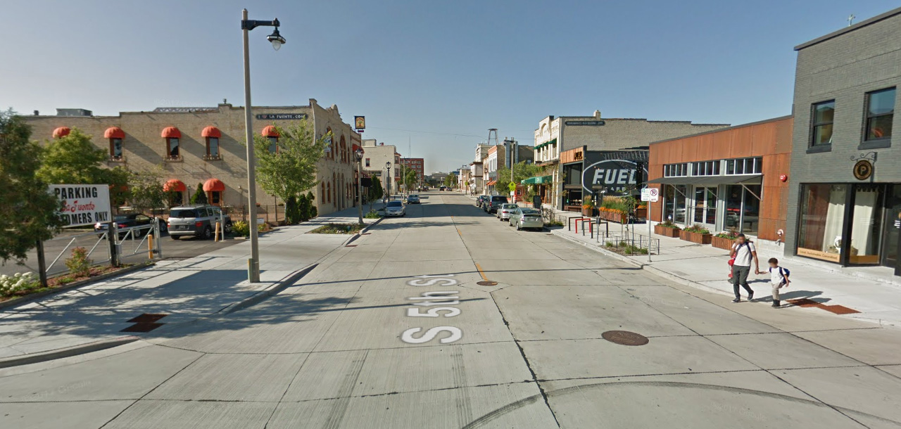 S. 5th St. in 2017. Image from Google Maps Streetview.