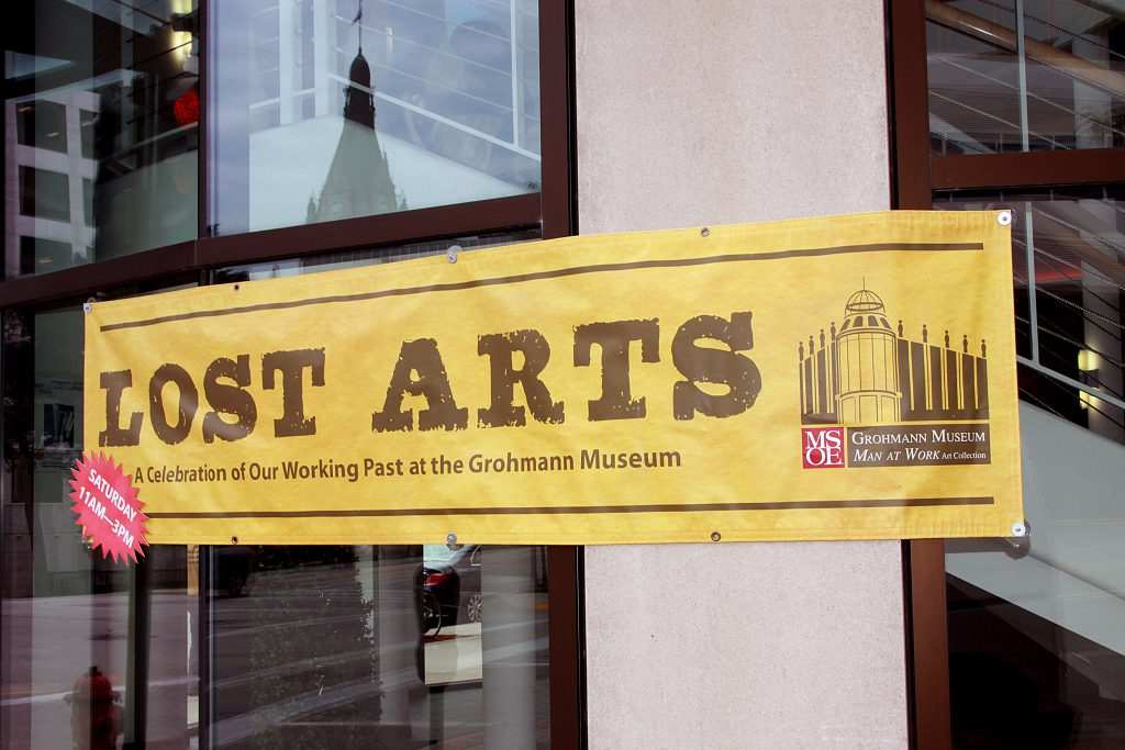 Lost Arts, A celebration of the working past at the Grohmann Museum. Photo by Erol Reyal.