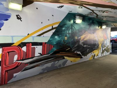 Eyes on Milwaukee: Downtown Tunnel Gets Colorful Mural
