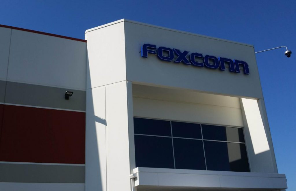 Foxconn. Photo by Chuck Quirmbach/WPR.