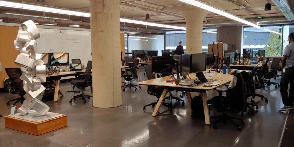 Inside Cream City Labs. Photo by Zach Komassa.