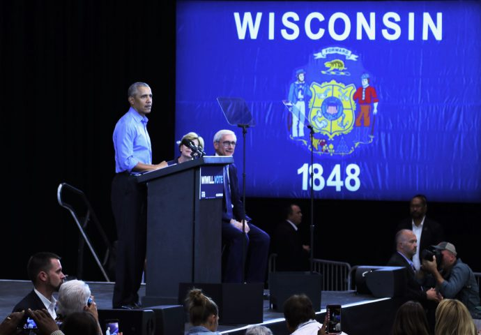 Former President Barack Obama has visited Milwaukee six times since 2008. Photo by Grace Connatser/NNS.