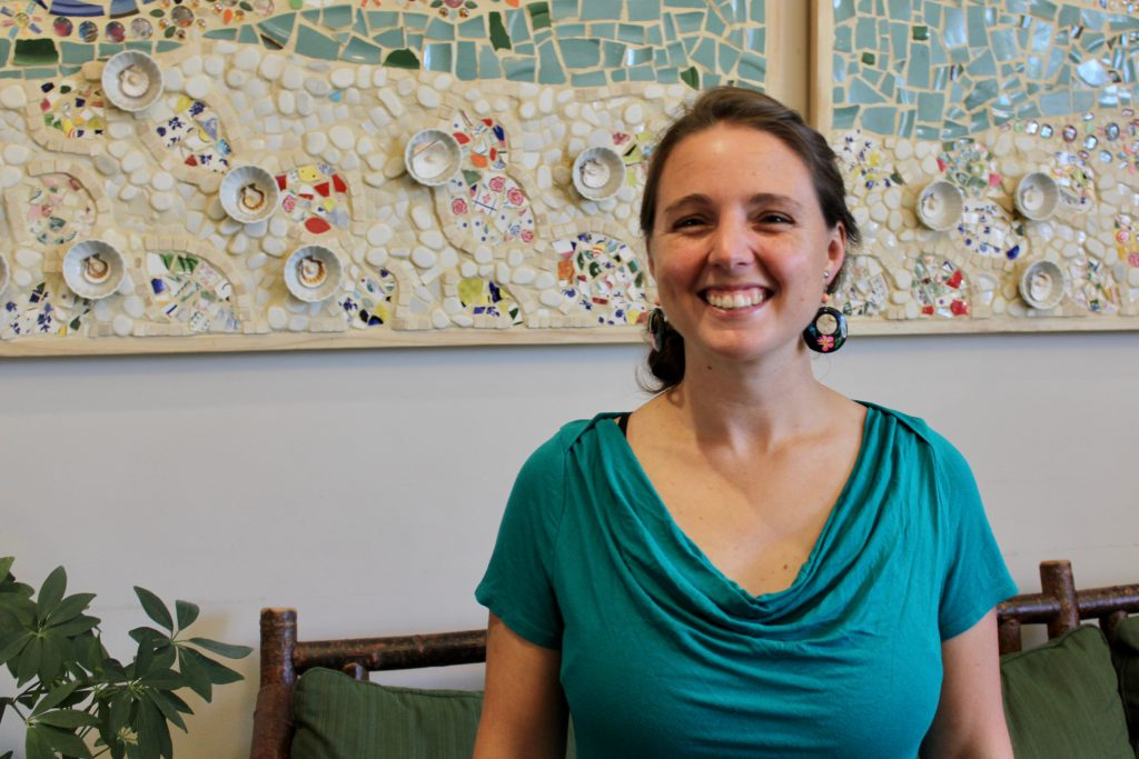 "Glenna Holstein says she ""grew up"" with the Urban Ecology Center. Photo by Carly Wolf/NNS."