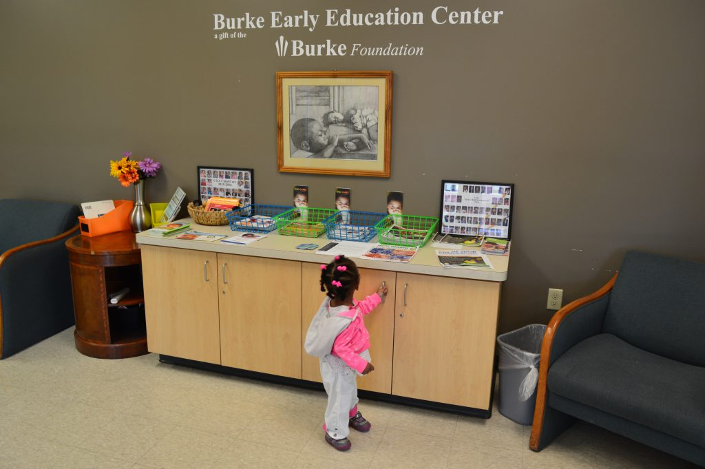 Hermione Riggins is one of 81 children who attends the Burke Early Education Center. Photo by Analise Pruni/NNS.