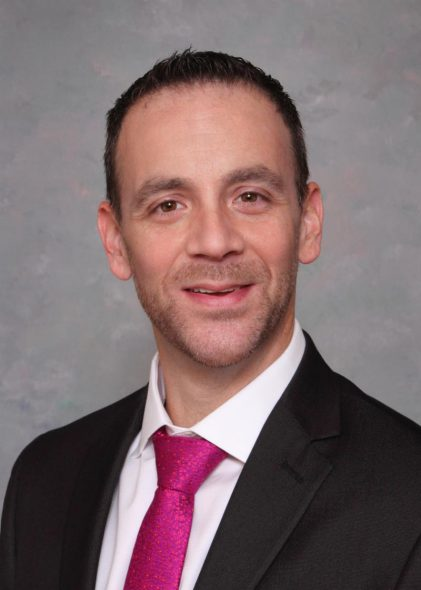 Andrew Petroll. Photo courtesy of Milwaukee Pride, Inc.