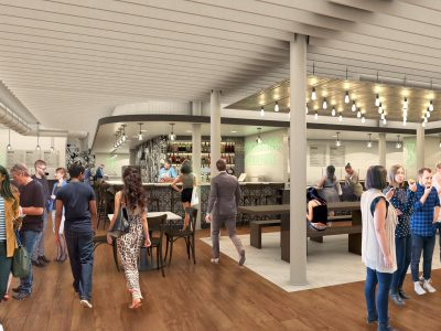 Now Serving: Food Hall Opening On December 17