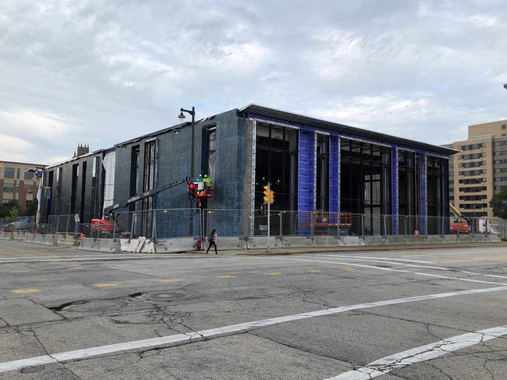 Marquette University Athletic and Human Performance Research Center. Photo by Jeramey Jannene.