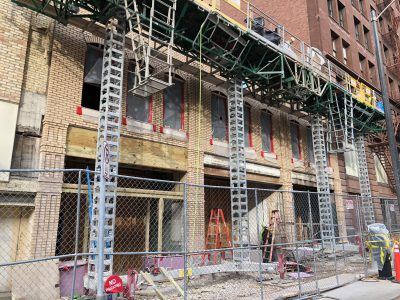 Friday Photos: Broadway Buildings Get New Life