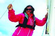 Teresa Coronado. Photo courtesy of the Milwaukee Community Sailing Center.