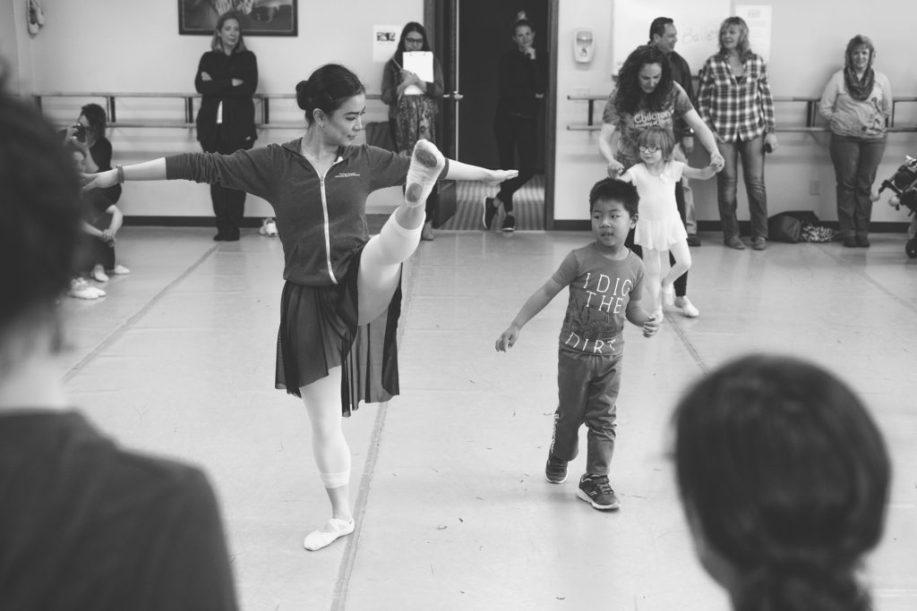 Tour De Force. Kendra Woo and Everett. Photo courtesy of the Milwaukee Ballet.