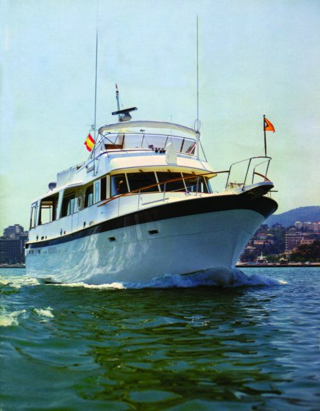 Trenora yacht. Photo courtesy of Kurt Chandler.