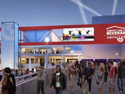 Milwaukee World Festival, Inc. Unveils Renderings and Amenities for New American Family Insurance Amphitheater