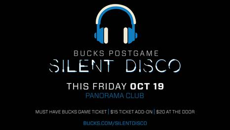 Silent Disco to (Quietly) Rock Fiserv Forum After Raucous Bucks Home Opener