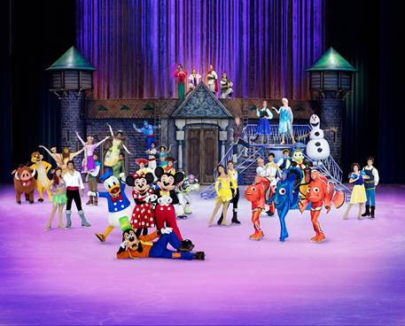 Disney On Ice celebrates 100 Years Of Magic Coming To Fiserv Forum Feb. 14-17, 2019