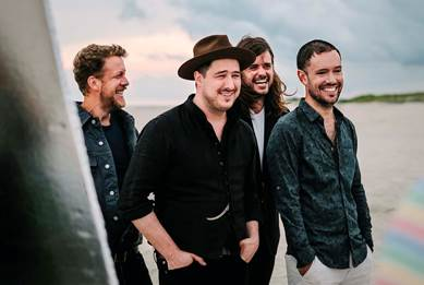 Mumford & Sons to Perform at Fiserv Forum on March 31, 2019