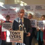 Race for Governor: Evers Hits Walker on Pre-Existing Conditions