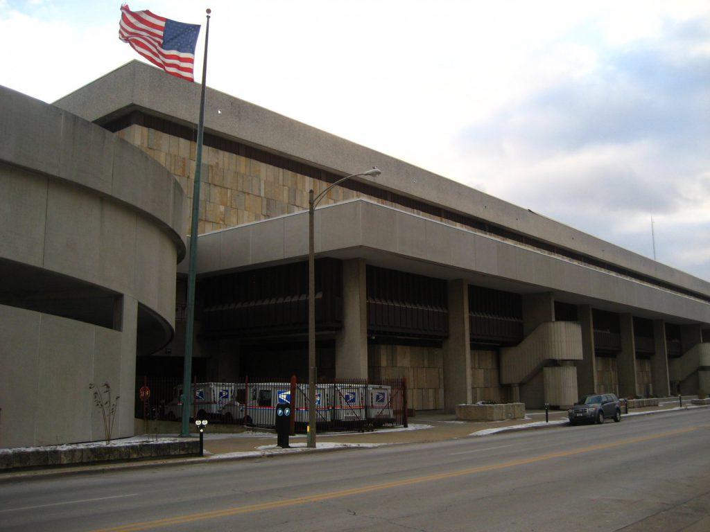 Milwaukee Main Post Office. Photo by Christopher Hillard.