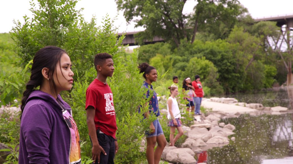 River Line. Photo courtesy Kirsten Leenaars and Ellie Hall.