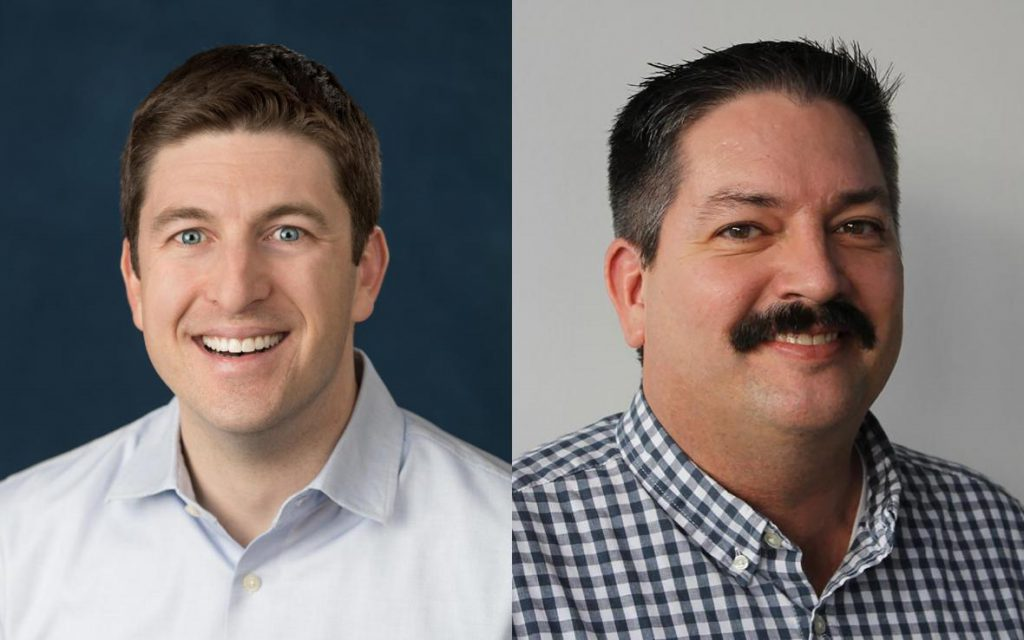 Bryan Steil and Randy Bryce. Photos courtesy of the campaigns.