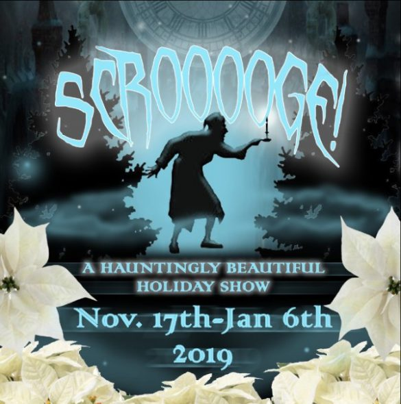 Scrooooge!, a floral show based on the Dickens holiday classic, opens at The Domes Nov. 17.