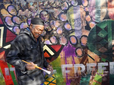 House of Peace Mural Gets Restored