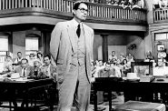 Gregory Peck publicity photo for the film To Kill a Mockingbird, 1962