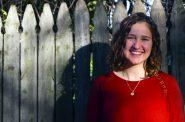Annie Clark, Volunteer/Intern at Walker's Point Youth & Family Center. Photo by volunteer Ryan Mueller.