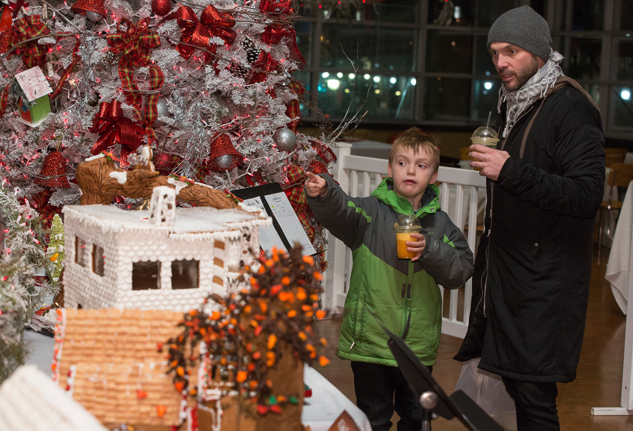 Gingerbread Houses Made by MATC Baking & Pastry Arts Students on Display at Milwaukee Public Market Dec. 1-12