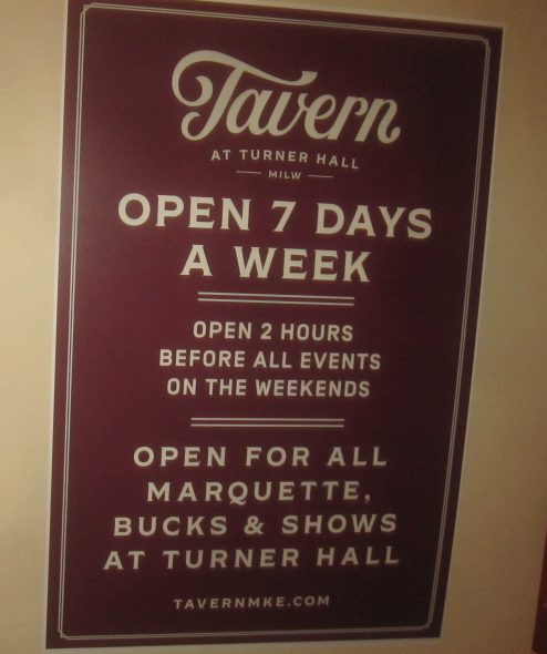 Open 7 Days A Week. Photo by Michael Horne.