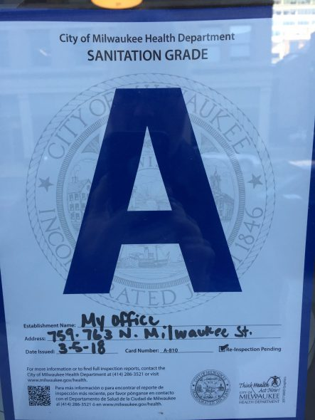 "An ""A"" Grade. Photo by Dave Reid."