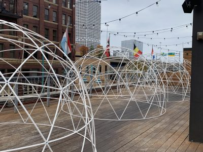 Lux Domes Announced for Café Benelux Rooftop